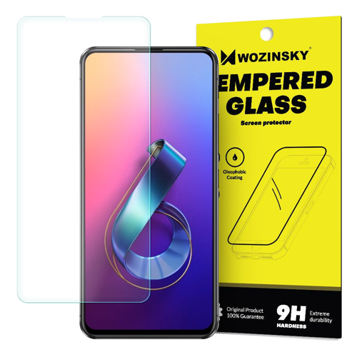 Wozinsky Tempered Glass 9H Screen Protector for Asus Zenfone 6 ZS630KL (packaging – envelope)