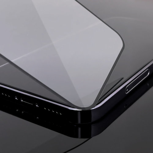 Wozinsky Tempered Glass Full Glue Super Tough Screen Protector Full Coveraged with Frame Case Friendly for iPhone 8 / 7 black