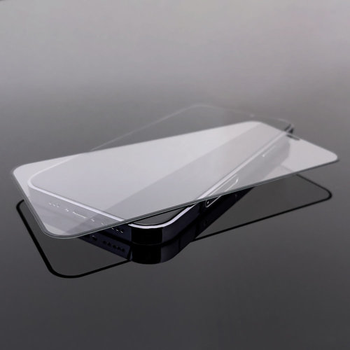 Wozinsky Tempered Glass Full Glue Super Robust Panzerglas Vollbild Hartglas mit Rahmen Case Friendly für Motorola One Action / Motorola One Vision schwarz