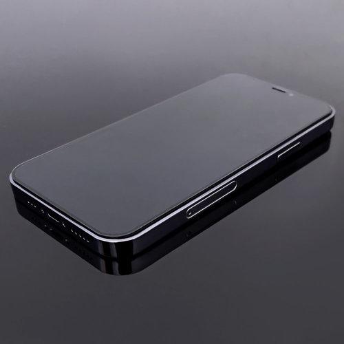 Wozinsky Tempered Glass Full Glue Super Robust Panzerglas Vollbild Hartglas mit Rahmen Case Friendly für iPhone 8 / 7 schwarz